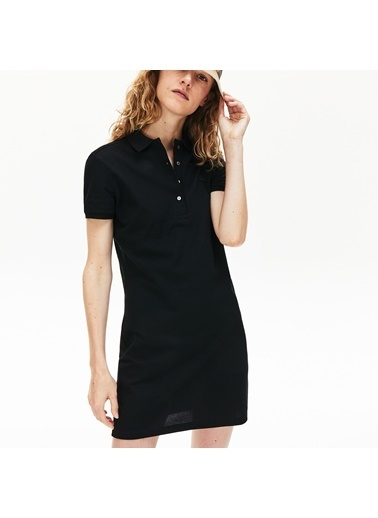 Lacoste Kadın Polo Tişört EF5473.031 Siyah